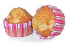 Close up banana cupcake Royalty Free Stock Photo