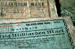 Close up of bank note Stock Photo