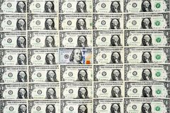 Close up of banknote Stock Photography