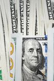 Close up of banknote Stock Images