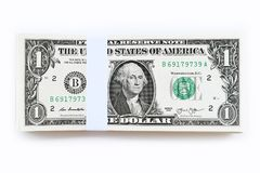 Close up of banknote Royalty Free Stock Photo