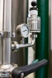 Close-up of barometer Stock Photos