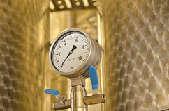 Close up of barometer Royalty Free Stock Photography