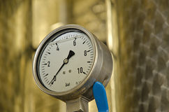 Close up of barometer Stock Photos