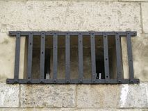 Barred Fort Window Royalty Free Stock Photos