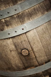 Close up of a barrel Royalty Free Stock Photography