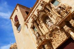 Close-up of Basilica de Santa Maria Royalty Free Stock Photo