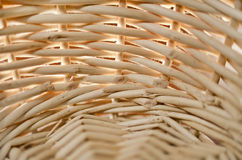 Close up of a basket. Close up of a light rod basket Royalty Free Stock Image