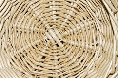Close up of a basket. Close up of a light rod basket Stock Photo
