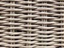 Close up of basket weave pattern Stock Photography