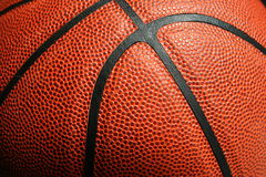 Close-up of basketball. Close-up of detail on basketball Stock Photography