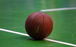 Close-up Basketball ball Stock Images