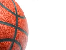 Close up of a basketball royalty free stock photography