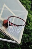 Close up of basketball hoop Royalty Free Stock Photography