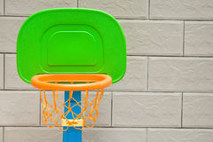 Close up of basketball hoop Royalty Free Stock Image