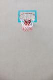 Close up of basketball hoop and net Stock Image