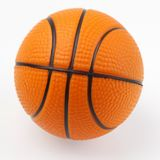 Close-up of basketball. One basketball on plain background Stock Image
