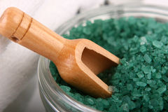 Close-up of bath salts Stock Photos