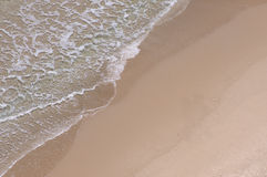 Close-up of beach Stock Images