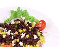 Close up of beans salad. Stock Images