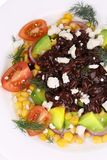 Close up of beans salad. Royalty Free Stock Photos