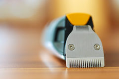Close-up of beard trimmer Stock Image