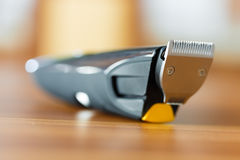 Close-up of beard trimmer Stock Photo