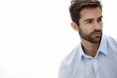 Close up of bearded man Royalty Free Stock Photography