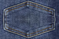 Close up of blue denim jeans. Close up of beautiful blue denim jeans stock images