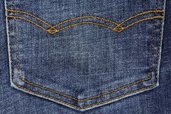 Close up of blue denim jeans. Close up of beautiful blue denim jeans stock photos