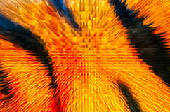 Close-up beautiful colorful extrude abstract background Royalty Free Stock Photo