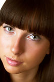 Close-up of a beautiful face Royalty Free Stock Photo