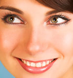 Close-up of a beautiful face Royalty Free Stock Images