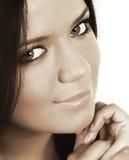 Close-up of a beautiful face Stock Photos