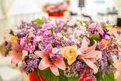 Close-up beautiful flower bouqet Royalty Free Stock Photos