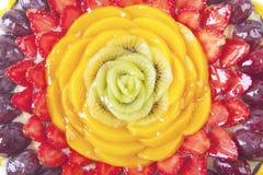 Close-up beautiful dessert cake Royalty Free Stock Photos