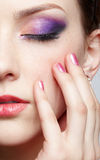 Close-up of beautiful girl Stock Photo