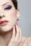 Close-up of beautiful girl Stock Photography