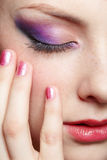 Close-up of beautiful girl Royalty Free Stock Photo