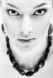 Close-up of beautiful model Royalty Free Stock Photos