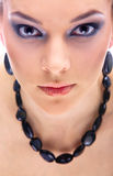 Close-up of beautiful model Royalty Free Stock Photo