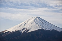 Close up Beautiful Mount Fuji, japan Royalty Free Stock Photography