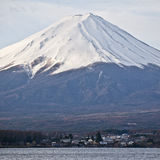 Close up Beautiful Mount Fuji, japan Royalty Free Stock Photos