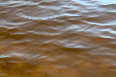 Close up of beautiful water surfaces of a lakes and the baltic sea stock photo