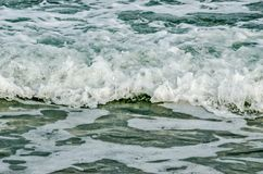 Close-up of Ocean Waves Royalty Free Stock Image