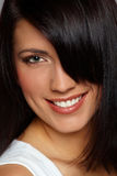 Close-up of Beautiful Woman Royalty Free Stock Images