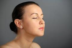 Close-up of beautiful woman face Royalty Free Stock Photos