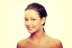 Close-up of beautiful woman face Royalty Free Stock Images