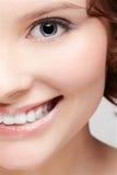 Close-up of beautiful woman Royalty Free Stock Image