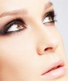 Close-up of beautiful woman Royalty Free Stock Photo